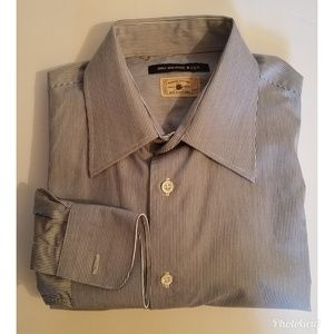 John Varvatos USA Long Sleeved Stripped Shirt